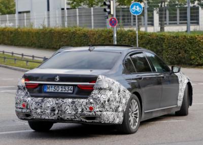 Опубликованы фотоснимки обновленной BMW 7-й серии (видео)