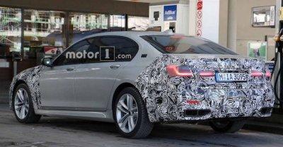 Опубликованы фотоснимки обновленной BMW 7-й серии