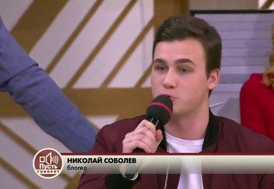 Блогер Николай Соболев объявил себя новым ведущим программы «Пусть говорят»