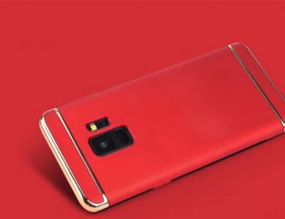 Samsung представила красные Galaxy S9 Series с губной помадой