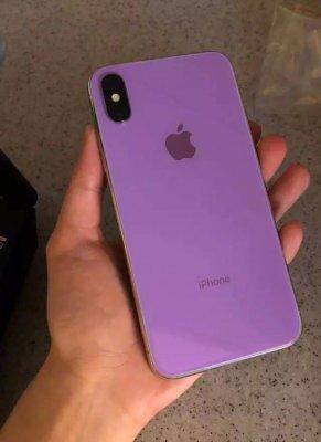 iPhone 2018 показали в «диких» цветах