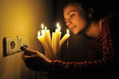 В среду в Крыму произошло массовое отключение электричества