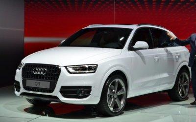 Новый Audi Q3 замечен во время тестов