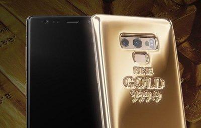 В России выпустили смартфон – килограммовый слиток золота