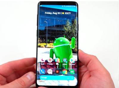 Samsung Galaxy S9+ с прошивкой Android 9.0 Pie появился в Сети
