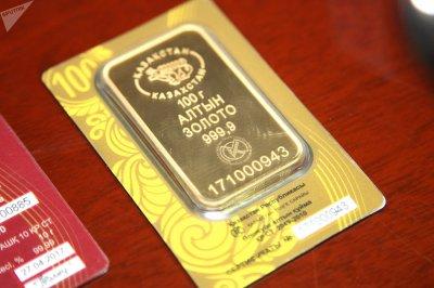 Казахстанцы выкупили в банках 175 килограммов золота
