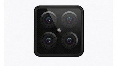 Lenovo показала новый смартфон с четырьмя камерами