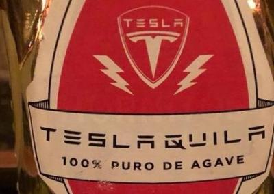 Tesla создаст бренд крепких напитков