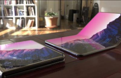 Samsung выпустит ноутбук со сгибающимся экраном