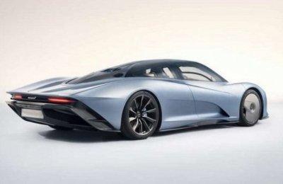 Появились первые фотоснимкки гиперкара McLaren Speedtail