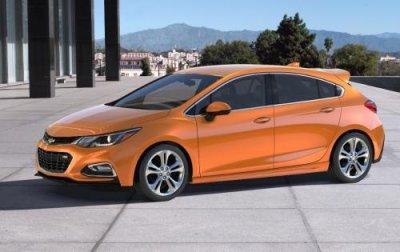 Chevrolet готовится представить мощную версию Cruze SS