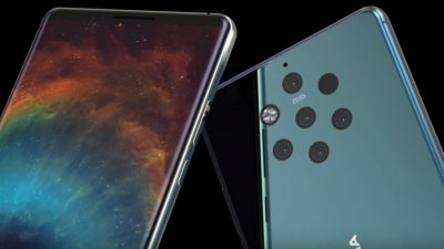 Пятикамерный флагман Nokia 9 показали на видео
