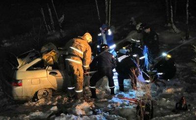 ВДТП наУрале погибло 4 человека, втом числе двое детей