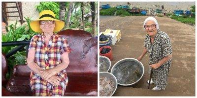 Умерла знаменитая трэвел-блогер из Красноярска баба Лена